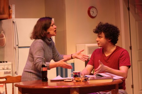 Elizabeth (Jennifer Mendenhall) and Bailey (Mark Halpern). Photo by Jati Lindsay.