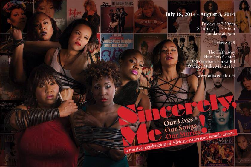 "The Cast of ""Sincerely, Me!"" at ArtsCentric"