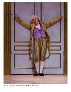 Stanton Nash as Wolfgang Amadeus Mozart