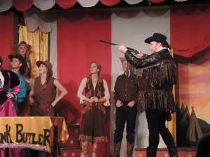 Jordan B. Stocksdale as Frank Butler in Annie Get Your Gun