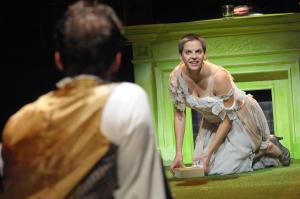 Marie Antoinette (Kimberly Gilbert) as her popularity begins to slip