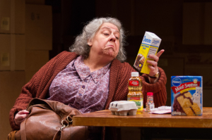 Jayne Houdyshell as Alma in The Shoplifters at Arena Stage at the Mead Center for American Theater, September 5-October 19, 2014.