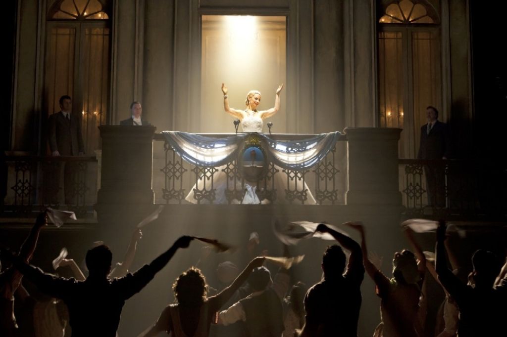 Evita playing at the John F. Kennedy Center for the Performing Arts Opera House Stage through October 19, 2014