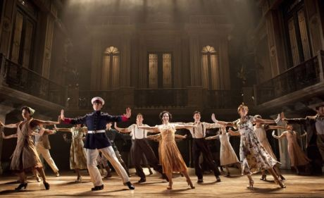 The company of the National Tour of Evita
