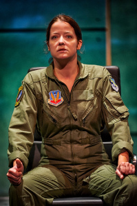 Everyman Resident Company Member Megan Anderson as The Pilot