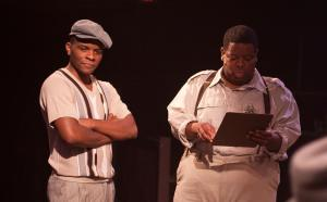 Gator (L- Jonathan David Randal) and Bobby (R- Tobias Young)