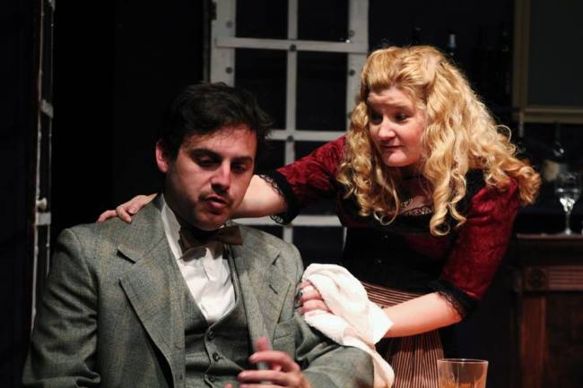 Einstein (L- Harris Allgeier) and Germaine (R- Ashley Gerhardt)