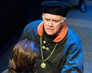 Frank B. Moorman as John of Gaunt the Duke of Lancaster, uncle to the King.