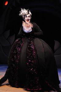 Ursula (Donna Migliaccio) plots to take over the sea.
