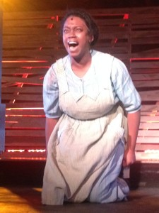 Dayna Marie Quincy as Celie in the ArtsCentric production of The Color Purple