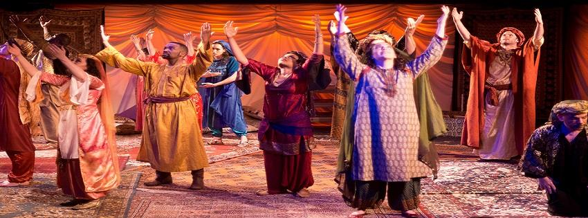 Silver Spring Stage's The Cast of Arabian Nights