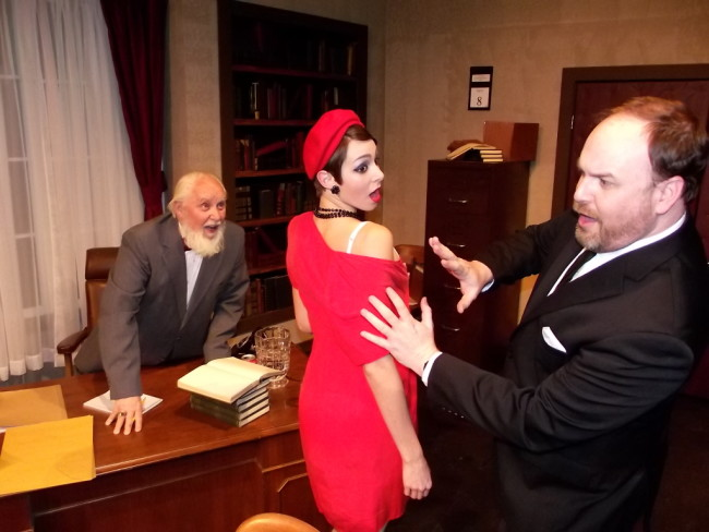 (L to R) Morestan (Martin Hayes) Josefa (Erica Jureckson) and Paul (Matt Leyendecker)