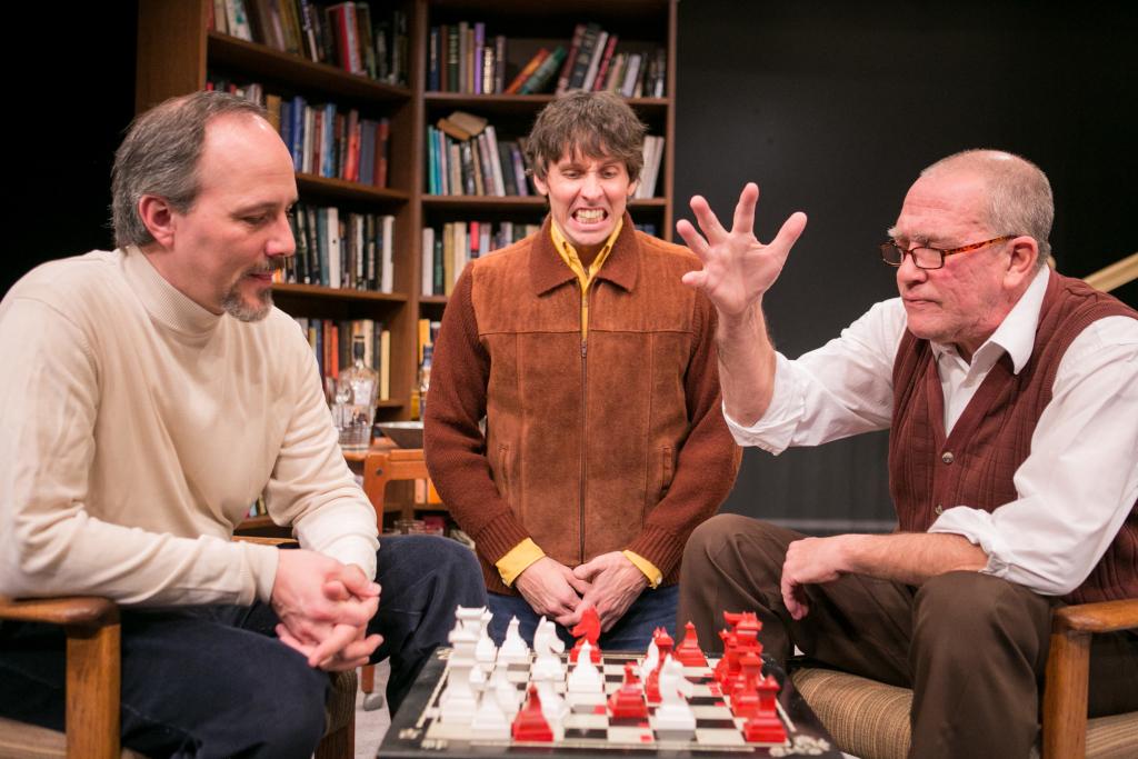 (l to r) Mark (Steven Carpenter) Joey (Christopher Herring) and Sebastian (Conrad Feininger)