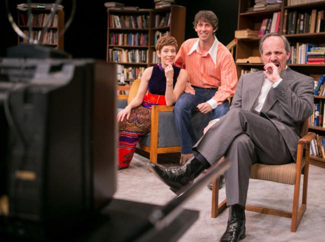 (l to r) Lydia (Julie-Ann Elliott) Joey (Christopher Herring) and Mark (Steven Carpenter)