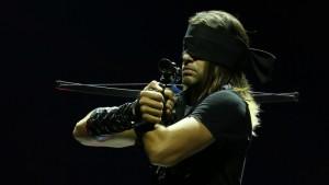Aaron Crow as The Warrior