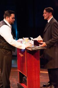 Jekyll (L- Ryan Wagner) and John Utterson (R- Brian S. Kraszewski)