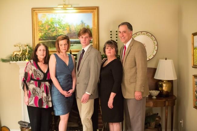 (L to R) Silda (Linda Chambers), Brooke (Laura Malkus), Trip (David Shoemaker), Polly (Lynda McClary) and Lyman (Dave Gamble)