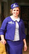 Christina Fox as Air France airline stewardess Jacqueline