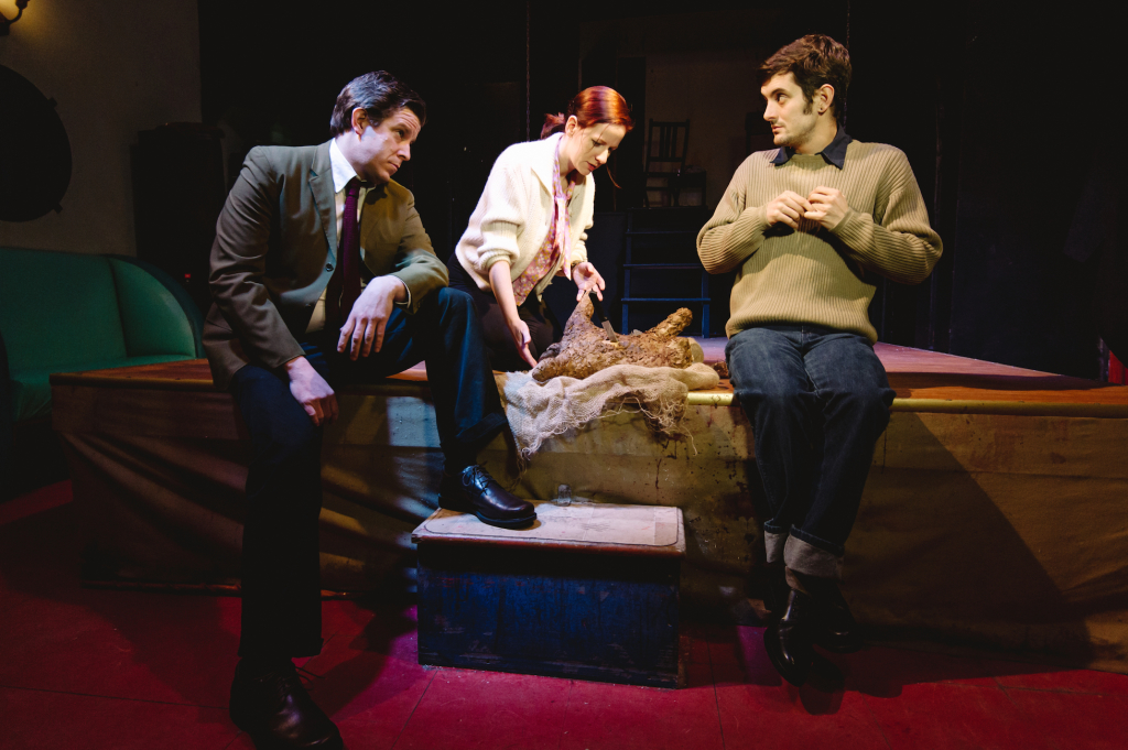 review  bucket of blood at the yellow sign theatre