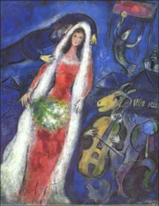 The inspiring Chagall painting