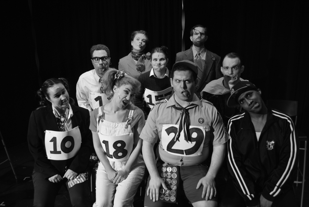 "The Kensington Arts Theatre cast of ""25th Annual Putnam County Spelling Bee"""