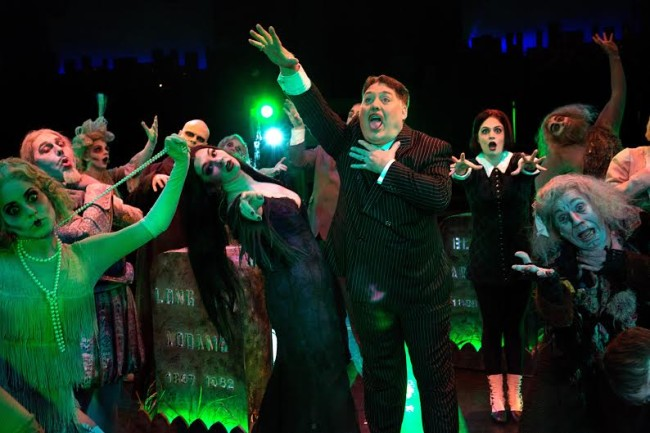 "The Addams Family dance out Rigor Mortis and the Death Rattle in ""When You're an Addams"""