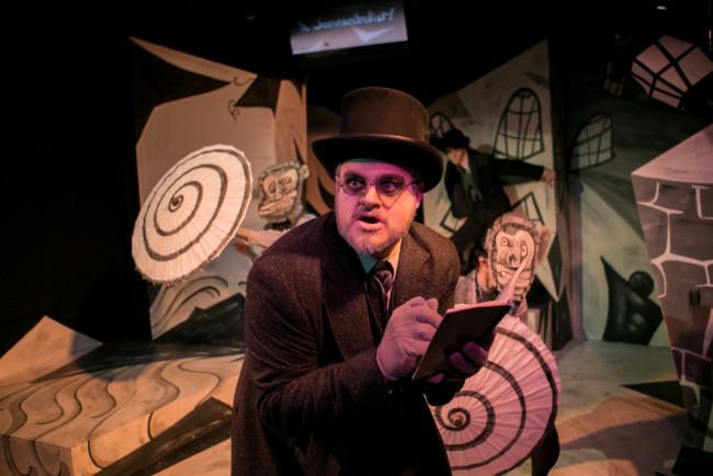 Lex Davis as Doctor Caligari