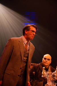 Darren McDonnell as Mal Beineke (Left) with Shawn Kettering as Uncle Fester (Right)