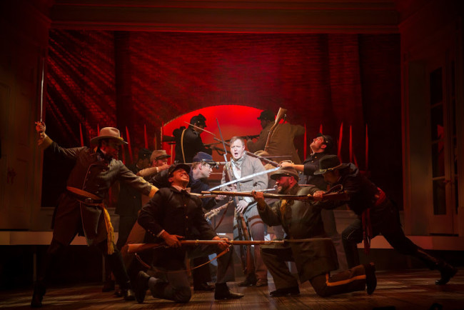 The cast of Freedom's Song: Abraham Lincoln and the Civil War at Ford's Theatre