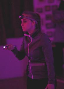 Liz Galuardi in The Dum Dums at Glass Mind Theatre