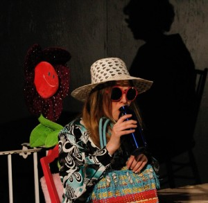 Ann Fraistat as SJ in God Don' Like Ugly at Venus Theatre