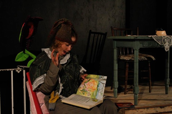 Cathryn Benson as Esme in God Don' Like Ugly at Venus Theatre