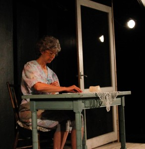 Nancy Blum as Bessie in God Dun' Like Ugly at Venus Theatre