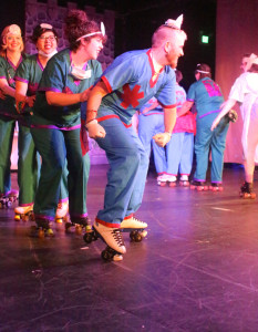 "Intensive Care Unit skaters in ""Intensive Care with Prince Joshy Josh"" in Fluid Movement's That's BaltAmoŕe"