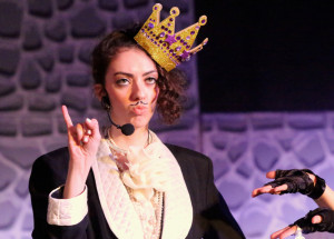 Rachel Ellis as The Artist Formerly Known as Prince Prince in Fluid Movement's That's BaltAmoŕe