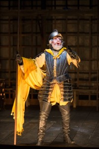 Anthony Warlow as Don Quixote in the Shakespeare Theatre Company's production of Man of La Mancha, directed by Alan Paul