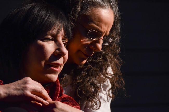 Marta (L- Julie Herber) and Cyn (R- Susan Porter)