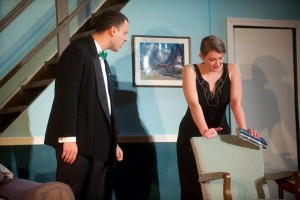 Louis Miles (left) as Glen Cooper and Amanda Polanowski (right) as Cassie Cooper