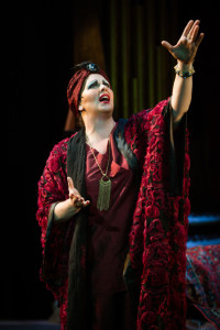 Katie McManus as Norma Desmond in Sunset Boulevard