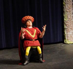 Steve Wannall as Lord Farquaad