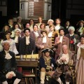 The cast in its entirety of 1776 at Toby's Dinner Theatre