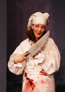 Anne Shoemaker in The Complete Works of William Shakespeare (Abridged) at Fells Point Corner Theatre