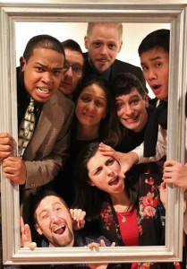 The Cast of Eat the Runt at HCC Arts Collective
