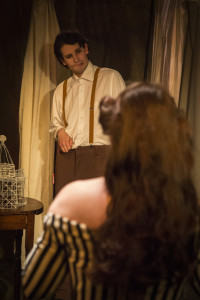 Matthew Lee as John Merrick in The Elephant Man at Maryalnd Ensemble Theatre