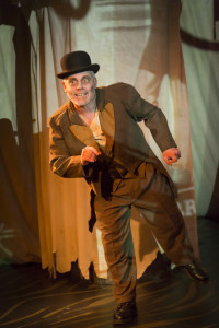 James McGarvey as Ross in The Elephant Man at Maryland Ensemble Theatre
