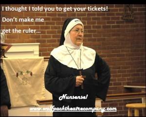 Reverend Mother, Sister Mary Regina