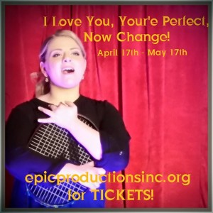 "Stephanie Leonardi singing ""I Will Be Loved Tonight"" in I Love You, You're Perfect, Now Change"