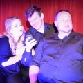 (L to R) Stephanie Leonardi, Brian Nabors, and Michael Kenny in I Love You, You're Perfect, Now Change!