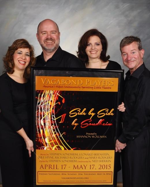 (L to R) Jennifer Viets, Steve Antonsen, Alyson Shirk, and Gary Hiel