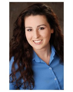 Melanie Pino-Elliot, the musical theatre performer assigned to help Sister Julia, Child of God